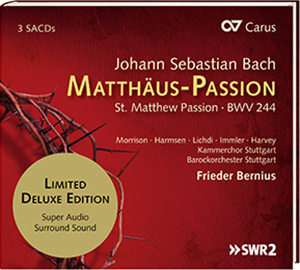 Matthäuspassion CD