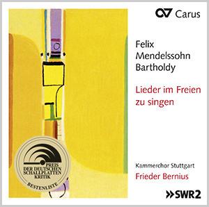 Mendelssohn: Lieder im Freien zu singen / Bernius