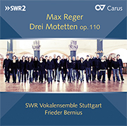 Reger: Three motets op. 110