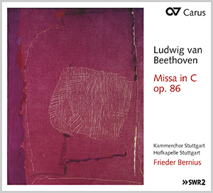 Beethoven: Messe in C-Dur (Bernius)