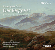 Danzi: Der Berggeist (Bernius)
