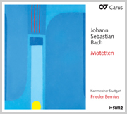 Johann Sebastian Bach: Motetten (Bernius)