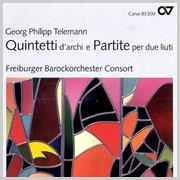 Telemann: Quintetti d'archi e Partite per due liuti (FBO)