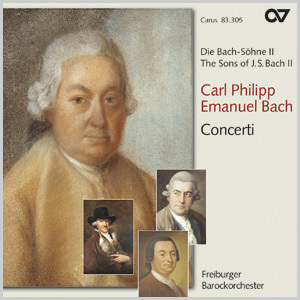 The Sons of J.S. Bach 2: Carl Philipp Emanuel Bach - Concerti