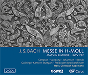 Bach: Messe in h-Moll (2 CDs)