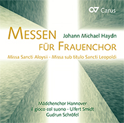 Johann Michael Haydn/Hans Koessler: Masses for Women's Choir