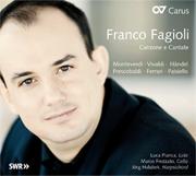 Franco Fagioli. Canzone e Cantate