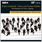 Gottwald/Mahler: Alma and Gustav Mahler. Transcriptions for a cappella choir