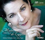 Makh tsu di Eygelekh. Jiddische Lieder/Yiddish Songs