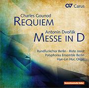 Charles Gounod: Requiem / Antonin Dvorak: Messe D-Dur