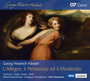 Händel: L'Allegro, il Penseroso ed il Moderato
