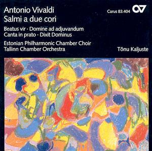 Vivaldi: Salmi a due cori (Kaljuste)