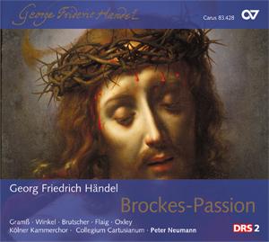 """Georg Friedrich Händel: Brockes-Passion. """"Der für die Sünde der Welt gemarterte und sterbende Jesu"""""""