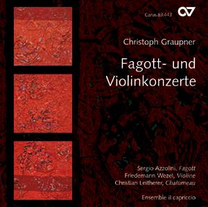 Christoph Graupner: Fagott- und Violinkonzerte