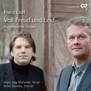 Franz Liszt: Voll Freud und Leid. Selected songs.