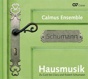 Hausmusik - Zu Gast bei Clara und Robert Schumann. Choral music by Clara and Robert Schumann, Johannes Brahms and Johann Sebastian Bach