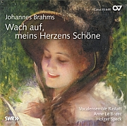 Brahms: Wach auf, meins Herzens Schöne. Choral music for mixed choir with piano