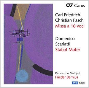 Scarlatti, Stabat Mater & Fasch, Missa a 16 voci