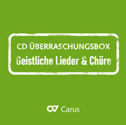 CD surprise Box SACRED SONGS AND CHORUSES