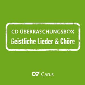 CD Überraschungsbox GEISTLICHE LIEDER UND CHÖRE