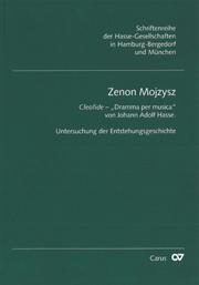 Zenon Mojzysz: Cleofide - Dramma per musica von Johann Adolf Hasse