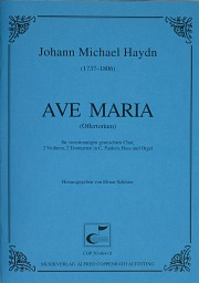Johann Michael Haydn: Ave Maria in E