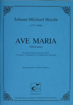 Johann Michael Haydn: Ave Maria in E