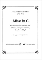 Johann Ernst Eberlin: Missa in C