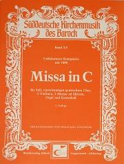 Anonymus: Missa in C