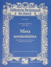 Antonio Bertali: Missa semiminima