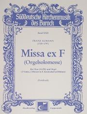 Franz Josef Aumann: Organ Solo Mass