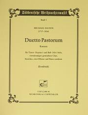 Johann Michael Haydn: Duetto Pastorum