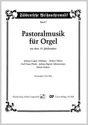 Pastoralmusik für Orgel aus dem 19. Jahrhundert
