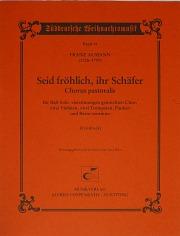 Franz Josef Aumann: Seid fröhlich, ihr Schäfer
