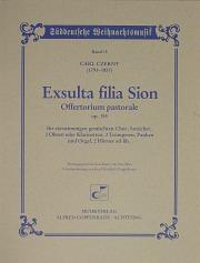 Carl Czerny: Exsulta filia Sion