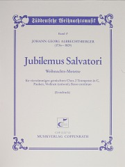 Johann Georg Albrechtsberger: Christmas Motet