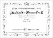 Johann Caspar Ferdinand Fischer: Musikalischer Blumenstrauß