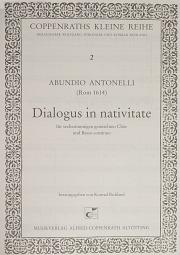 Abundio Antonelli: Dialogus in nativitate
