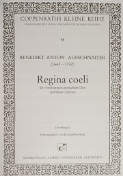 Benedikt Anton Aufschnaiter: Regina coeli