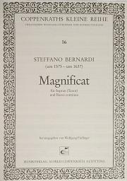 Steffano Bernardi: Magnificat