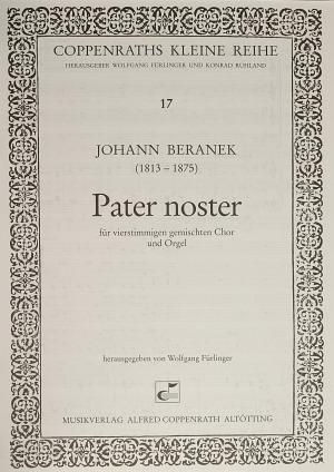 Johann Beranek: Pater noster
