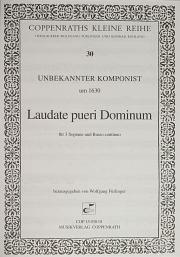 Anonymus: Laudate pueri Dominum