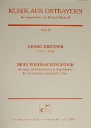 Brenner: Zehn Weihnachtslieder