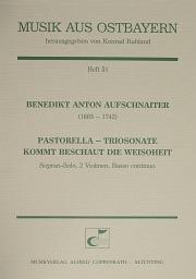 Benedikt Anton Aufschnaiter: Pastorella - Triosonate