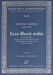 Antonio Bertali: Ecce illuxit nobis