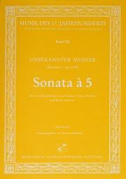 Anonymus: Sonata à 5