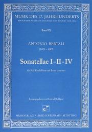 Bertali: Sonatella I-II-IV