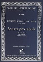 Heinrich Ignaz Franz Biber: Sonata pro tabula