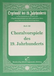 Choralvorspiele des 19. Jahrhunderts