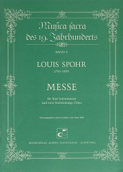 Louis Spohr: Messe in c-Moll